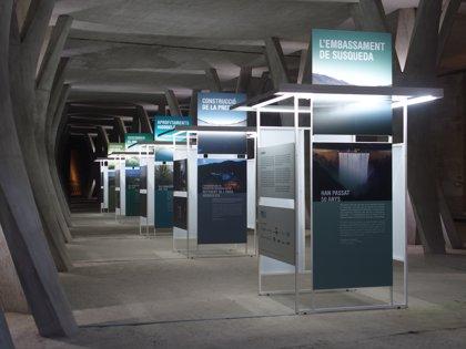 Guardonen l'exposició dels 50 anys del complex hidroelèctric de Susqueda (Girona)