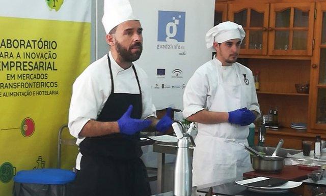 Evento gastronómico organizado por Guadalinfo.