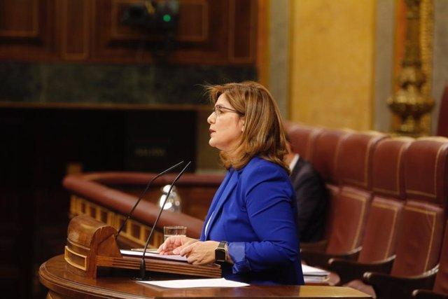 La diputada del PSOE Pilar Cancela, presidenta comisión Igualdad