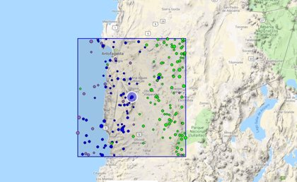 Un terremoto de magnitud 5,2 en la escala Richter sacude el centro de Chile