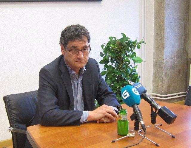 El director xeral de Ordenación Forestal, Tomás Fernández-Couto.