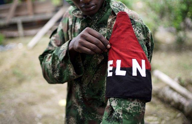 Rebelde del Ejército Liberación Nacional (ELN)