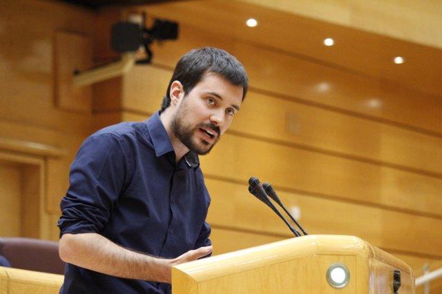 El senador d'ERC Bernat Picornell
