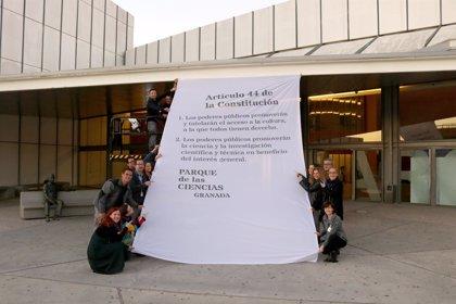 El Parque de las Ciencias de Granada abre el puente de la Constitución haciendo hincapié en su artículo 44