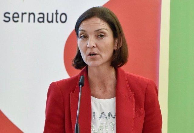 Reyes Maroto, ministra de Industria, Comercio y Turismo