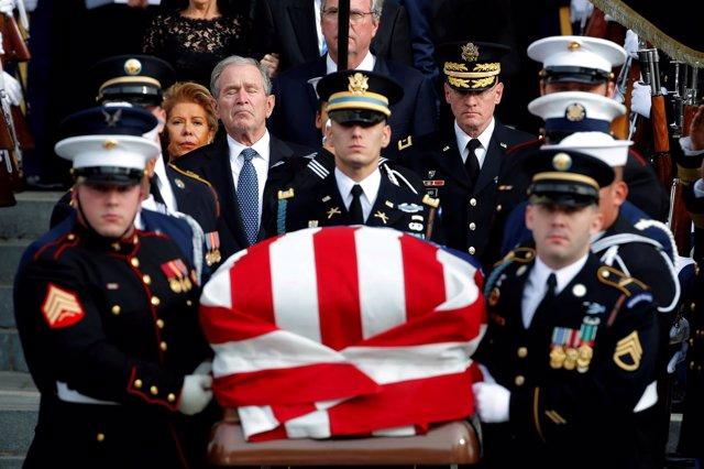 Funeral por el ex presidente George Bush
