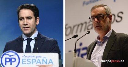 García Egea y Villegas mantienen un primer contacto y se verán la próxima semana para buscar un acuerdo en Andalucía