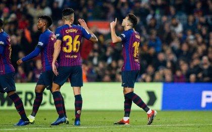El Barça, a octavos de Copa con una goleada reivindicativa