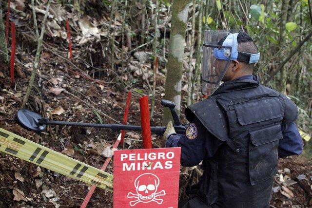 Minas Antipersona Colombia
