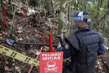 Las víctimas de minas antipersona se triplican en Colombia durante 2018