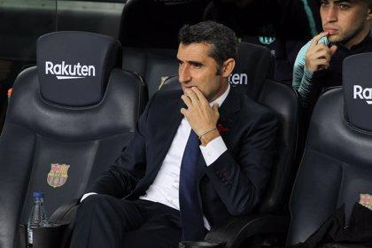 """Valverde: """"Esperamos que el de Riqui Puig sea un primer paso de una gran trayectoria"""""""
