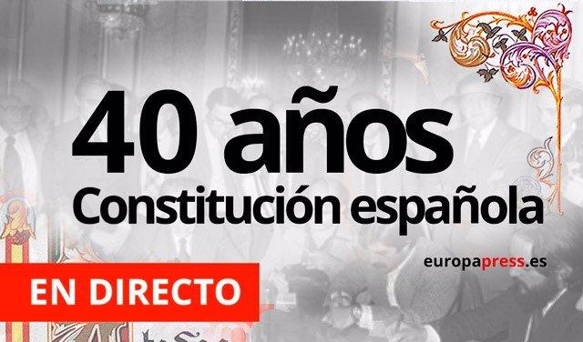 40 Años De La Constitución Española