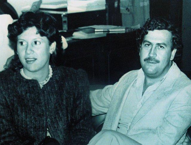 Pablo Escobar y su mujer, Victoria Eugenia Henao