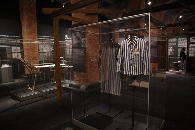 Exposición sobre Auschwitz en el Centro de Exposiciones de Arte del Canal