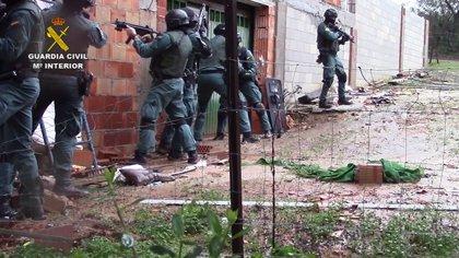 Detenidos 57 miembros de una red de narcotráfico entre el norte de África y Europa