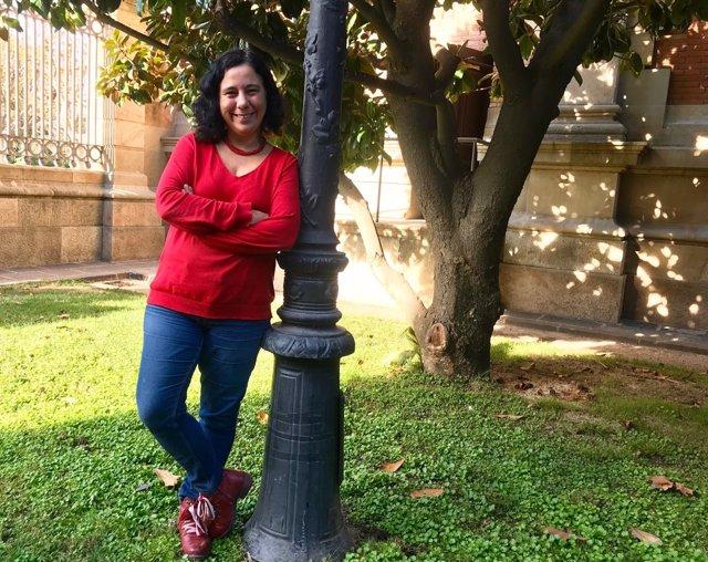 La portavoz de los comuns en el Parlament, Susanna Segovia.