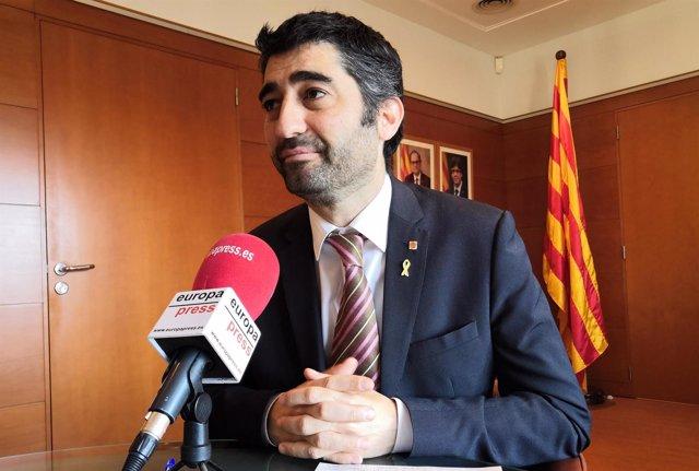 El conseller de Políticas Digitales y Administración Pública Jordi Puigneró