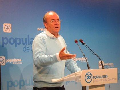 """Monago aceptaría una reforma de la Constitución """"si es para hacer más España"""""""