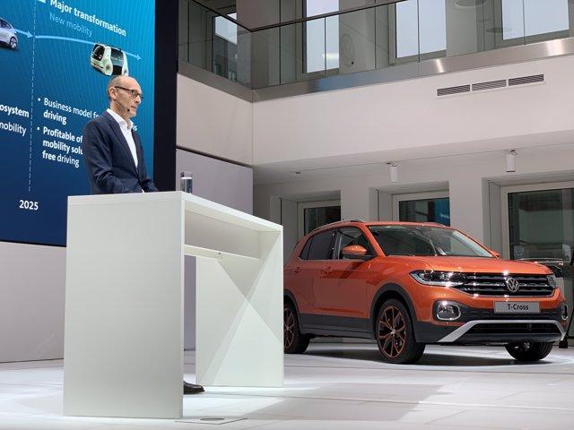 Presentación Volkswagen Alemania 6 de diciembre 2018