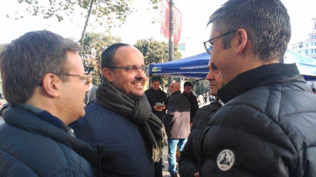 El president del PP a Catalunya, Alejandro Fernández