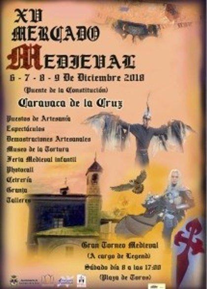 Caravaca celebra su XV Mercado Medieval con unos 200 puestos de artesanía