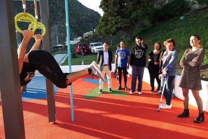 El Ayuntamiento de Santa Cruz de Tenerife abre en Cueva Bermeja la primera zona de calistenia en Anaga