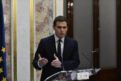 """Rivera rechaza el """"guerracivilismo"""" porque no ve """"enemigos"""" en la izquierda ni la derecha, sólo """"compatriotas"""""""
