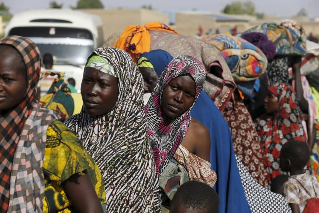 Refugiados nigerianos expulsados de Níger (archivo)