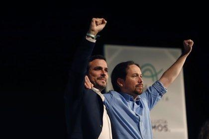 """Pablo Iglesias exige """"modernizar"""" la Constitución y reivindica la República frente al """"bloque reaccionario"""""""