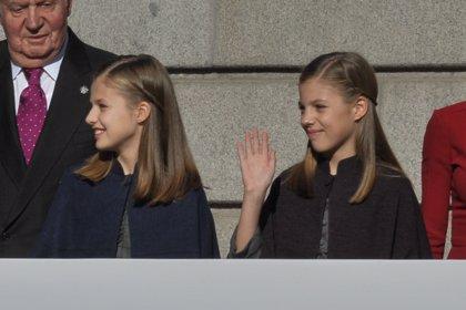 Leonor y Sofía, unas princesas de cuento en el 40 aniversario de la Constitución