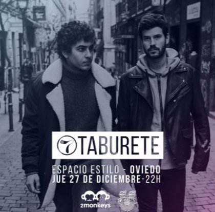 Taburete estará en Sala Estilo el próximo 27 de diciembre