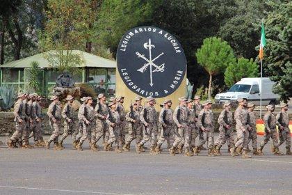 Las unidades legionarias de Ronda celebran el día de la Inmaculada Concepción con una parada militar