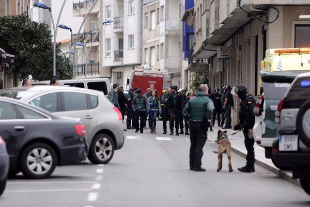 Posible caso de violencia de género en O Grove (Pontevedra)