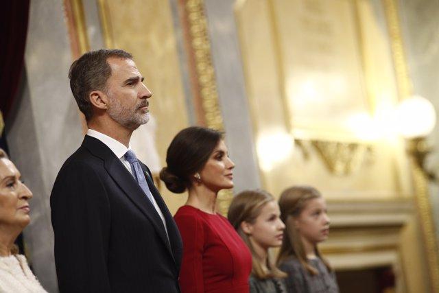 Els Reis Felip i Letizia