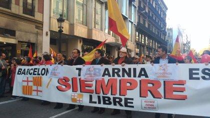 """SCC, als manifestants del 6D: """"Sou l'exèrcit més important per vèncer al nacionalisme"""""""