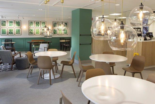 Restaurante de la tienda Ikea en Goya (Madrid)