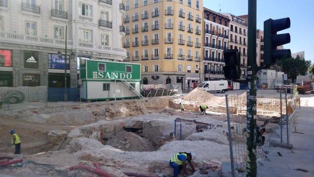 MCyP denuncia posible delito contra el patrimonio en obras de Gran Vía