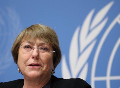 """Bachelet avisa de que los DDHH siguen estando """"bajo amenaza"""": """"Nuestros líderes parecen haberlos olvidado"""""""