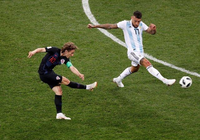 Argentina Croacia Luka Modric Mundial