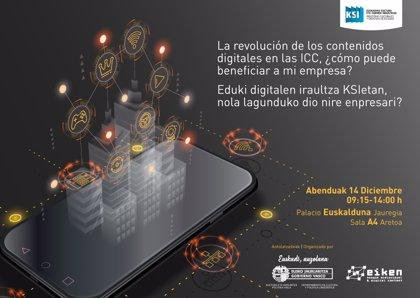 El Euskalduna acogerá el día 14 una jornada para difundir el nuevo programa de ayudas las industria creativa vasca