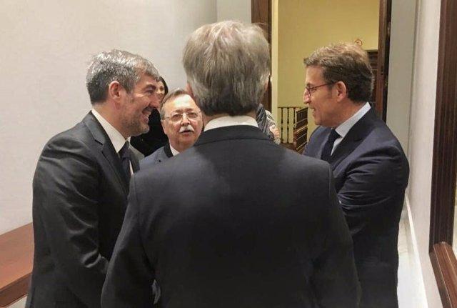Clavijo, con presidentes autonómicos