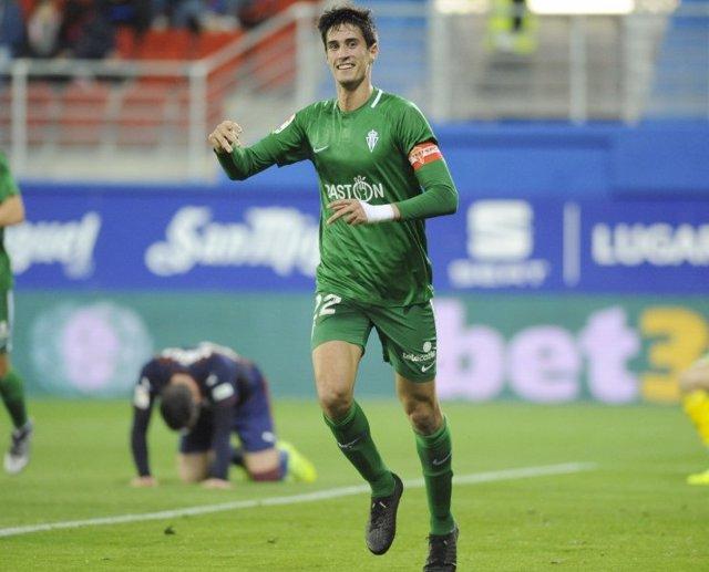 Pablo Pérez, del Sporting