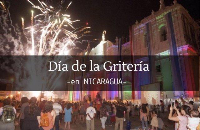 DÍA DE LA GRITERÍA EN NICARAGUA