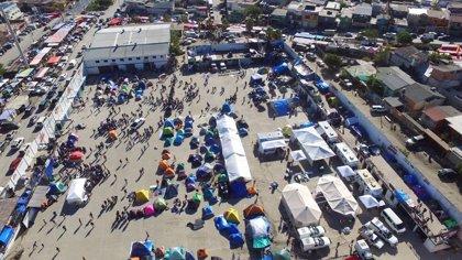 Más de 9.000 migrantes centroamericanos llegan a territorio mexicano en el último mes