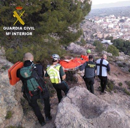 Fallece un senderista tras sufrir un accidente en una zona de montaña cerca de Onil