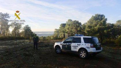 Rescatado un hombre de 85 años que se había perdido en el monte en Granadilla (Cáceres)