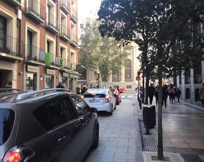 Abierta al tráfico la calle Don Jaime y el servicio de autobús se reanudará el martes