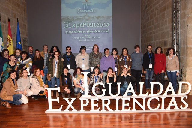 Uno de los encuentros de igualdad de la Diputación de Cáceres