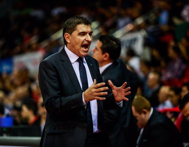Josep María Berrocal, entrenador del Estudiantes