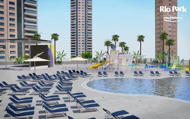Imatge del projecte de reforma de l'exterior de l'hotel